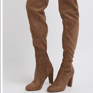 Charlotte Russe over knee boots